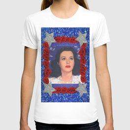 Ziegfeld Girl - Hedy Lamarr - Screen Siren  T-shirt