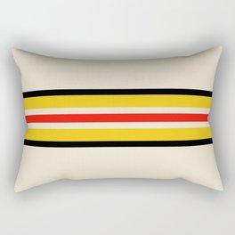 Classic Retro Stripes Amemasu Rectangular Pillow