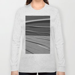 dual realities: white Wasteland Long Sleeve T-shirt