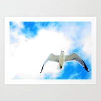miami Art Prints featuring Miami by Amee Cherie Piek