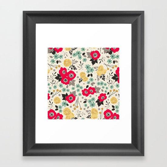 Blumen Framed Art Print