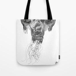 SPAGHETTI ALIEN Tote Bag