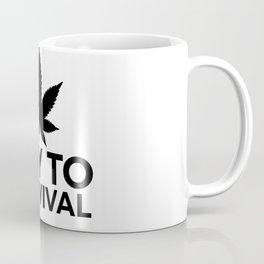 Weed Cannabis leaf gift idea 420 Coffee Mug