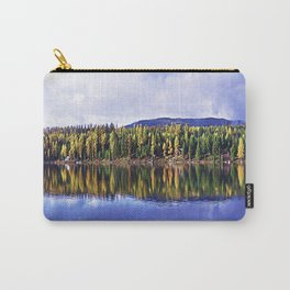 Inez Lake Montana Panorama Carry-All Pouch