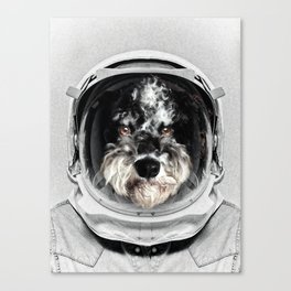 Buster Astro Dog Canvas Print