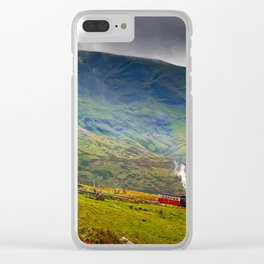 Steam Trains To The Summit Clear iPhone Case
