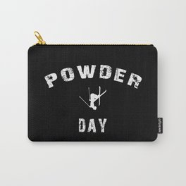 Powder Day Black Carry-All Pouch