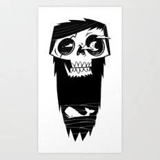 Ghost of a Whaler Art Print