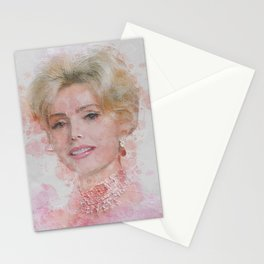 Zsa Zsa Gabor Stationery Cards