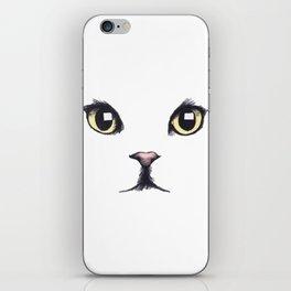 CAT--FACE iPhone Skin