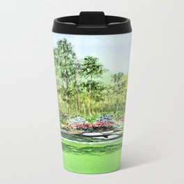 Augusta National Golf Course 12th Hole Metal Travel Mug