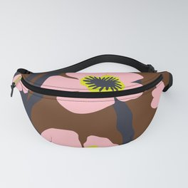 Pink Blooms Everywhere No 04 Fanny Pack