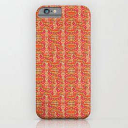 Persimmon red iPhone Case