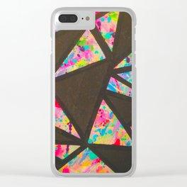tessellate Clear iPhone Case