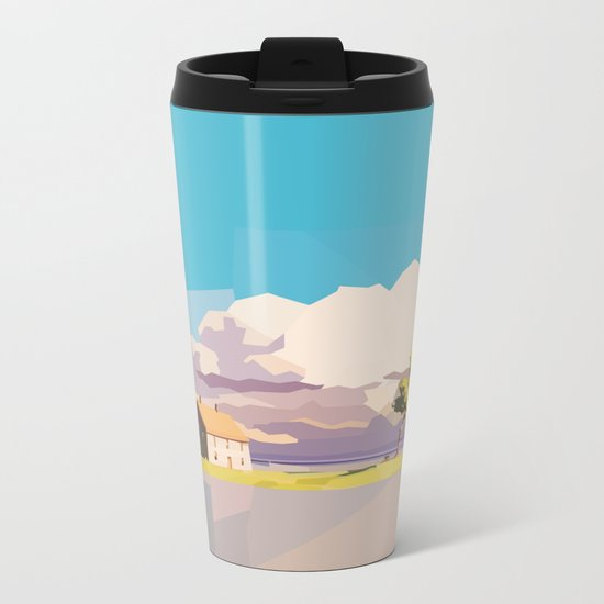 One Way Ride Metal Travel Mug