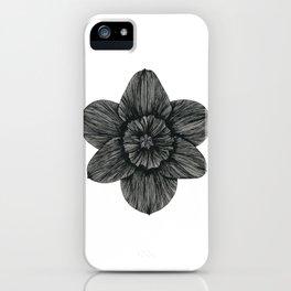 Daffodil Birth Flower iPhone Case