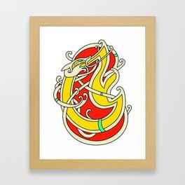 Viking Dragon of Infinite Warmth Framed Art Print