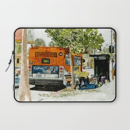 Homeless Series 5 ~ Sunset Blvd., Los Angeles, CA. Laptop Sleeve