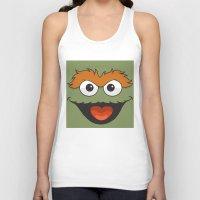 sesame street Tank Tops featuring Sesame Street  by Jconner