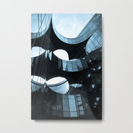 Southbank Building abstract Metal Print