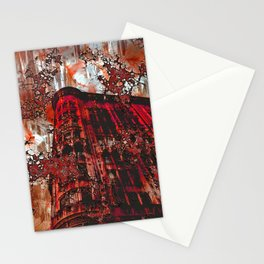 Red Broadway NYC series by Lika Ramati Stationery Cards