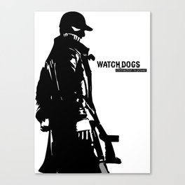 Watch dogs (aiden pearce) Canvas Print