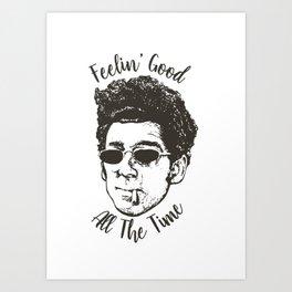 Seinfeld - Kramer Art Print