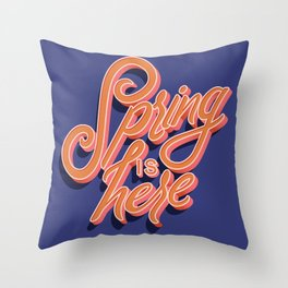Spring is Here 004 Throw Pillow