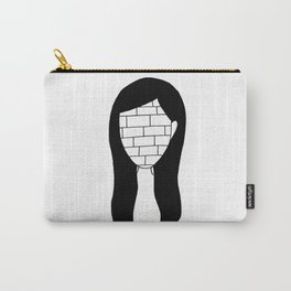 """All in all you're just another brick in the wall"" Carry-All Pouch"