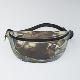 Gold water patterns Fanny Pack