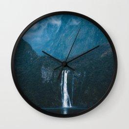 Majestic Milford Sound Wall Clock