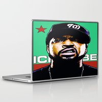 hip hop Laptop & iPad Skins featuring HIP-HOP ICONS: O'SHEA by SOL•SKETCHES™