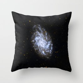 Galaxy M33 in Ultraviolet Throw Pillow