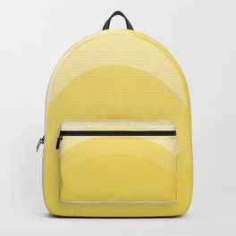 Four Shades of Yellow Curved Rucksack