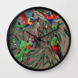 Birds of Paradise. Wall Clock