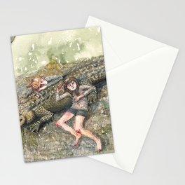 Crocodile Nap Stationery Cards