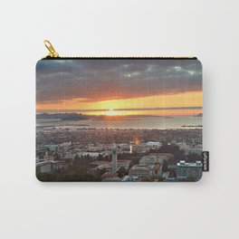 View of San Francisco Bay Area at Sunset from UC Berkeley Carry-All Pouch