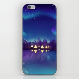 Northern Lights 2 iPhone Skin