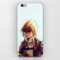 snk iPhone & iPod Skins featuring Armin Arlert by viria