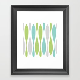 Colorwaves Spring Framed Art Print