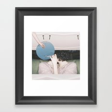 The Short Way's Short But The Long Way's Pretty Framed Art Print