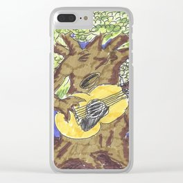 The Tree of Blues Clear iPhone Case