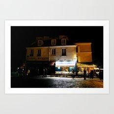 Montmartre Paris Art Print