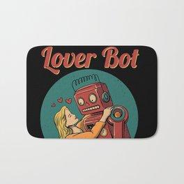 Lover Bot Bath Mat