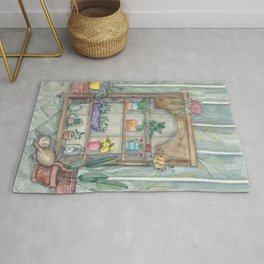 House of Plants  Rug