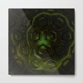 fractal: borg mind Metal Print