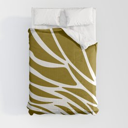 LINES DESIGN EXOTIC ON GOLD Comforters