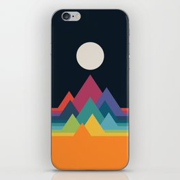 Whimsical Mountains iPhone Skin