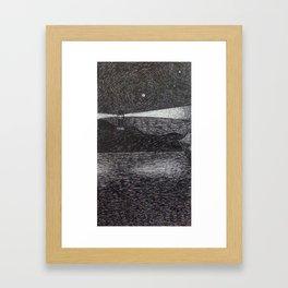 the lighthouse III Framed Art Print