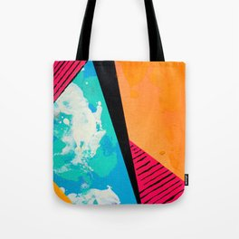 Sunset and Ocean Tote Bag